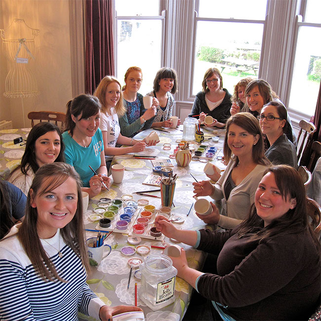 Hen Party Ideas For Small Groups: Crafty Party Fun In Northern Ireland